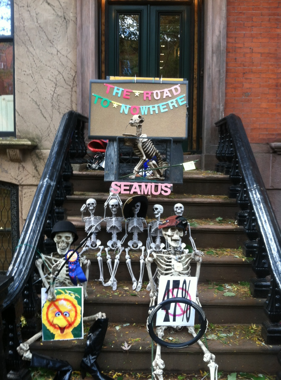 Pre-Election and Pre-Hurricaine Sandy Halloween Commentary