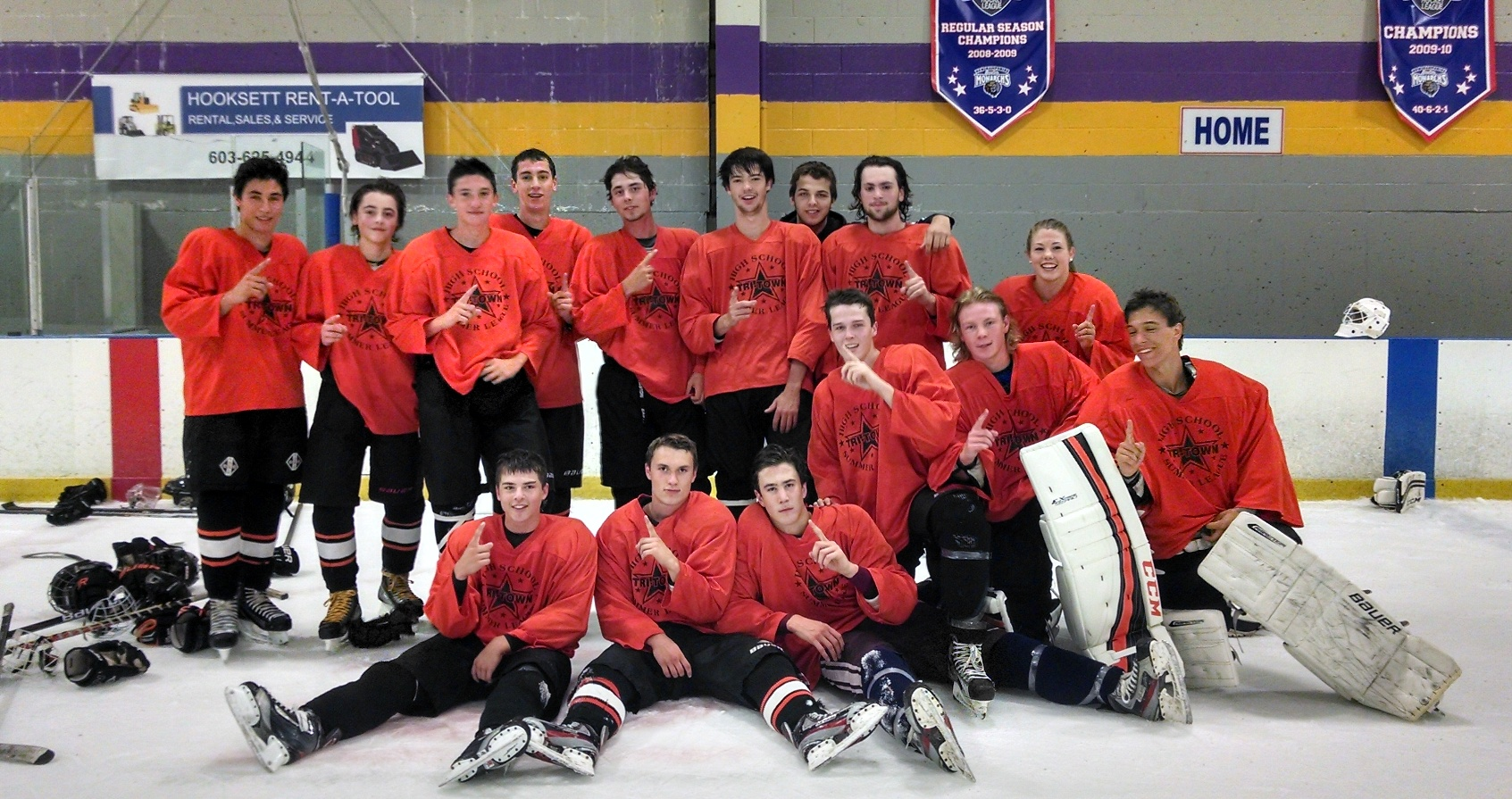After four summers of high school boys hockey in Hooksett, New Hampshire, a championship win