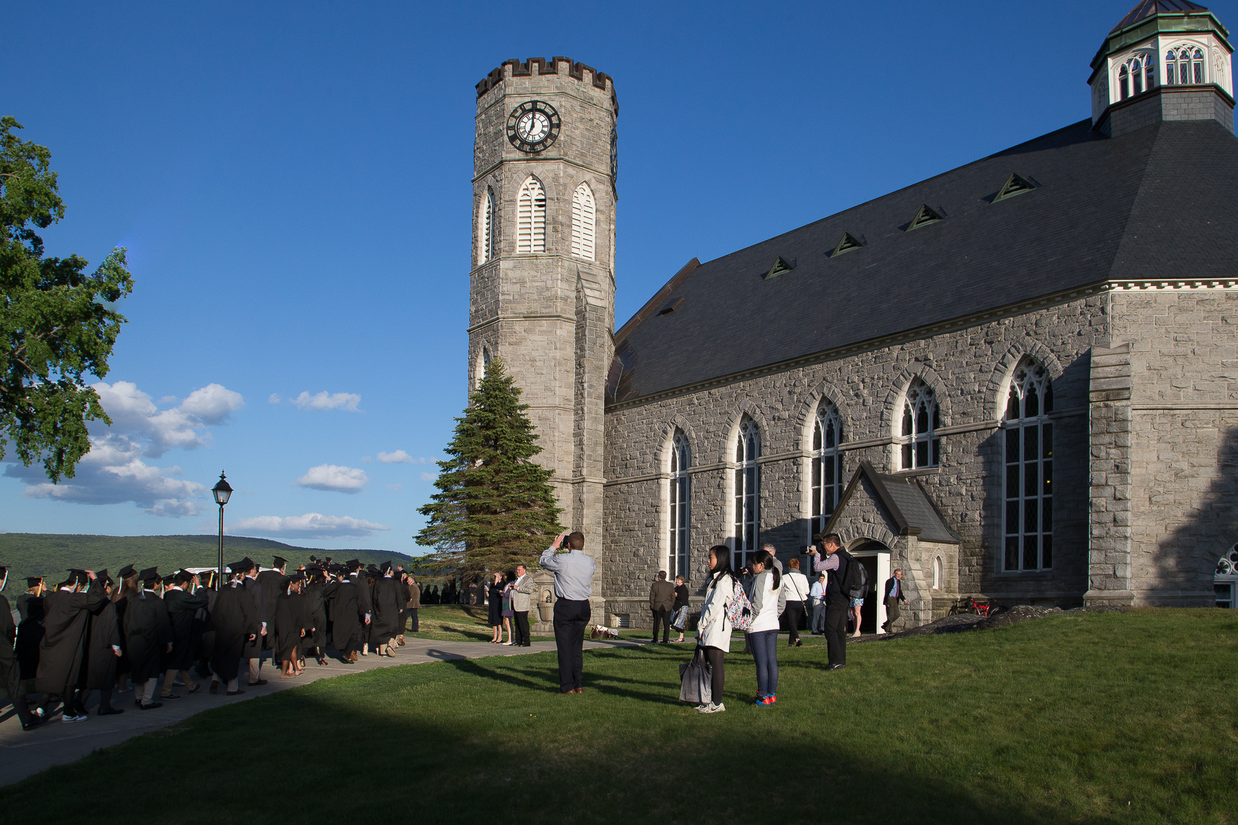 Baccalaureate Service at Northfield Mount Hermon, May 22, 2015. Photographs by Glenn Minshall.
