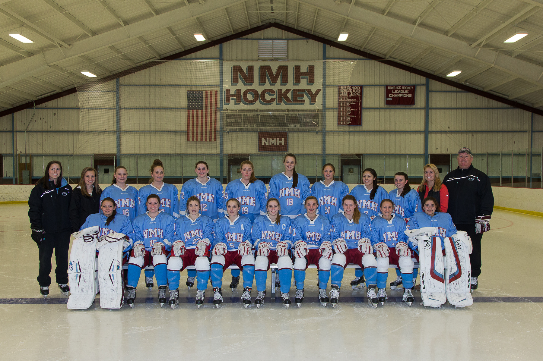 2016 NMH Winter teams
